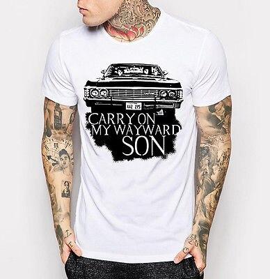 Impala Supernatural T-shirt QSS3TQeSI