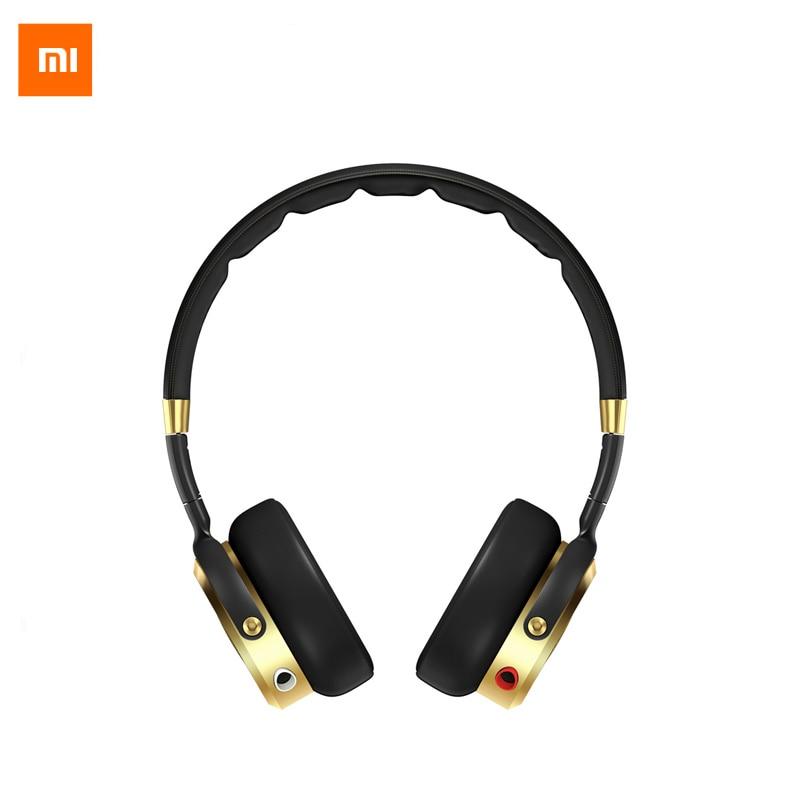 2017 Új eredeti Xiaomi hajtogatható HiFi fejhallgató fülhallgató - Hordozható audió és videó