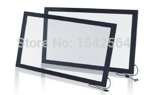 55 4 points USB IR Multi touch screen panel Overlay kit for interactive games in bar,pub