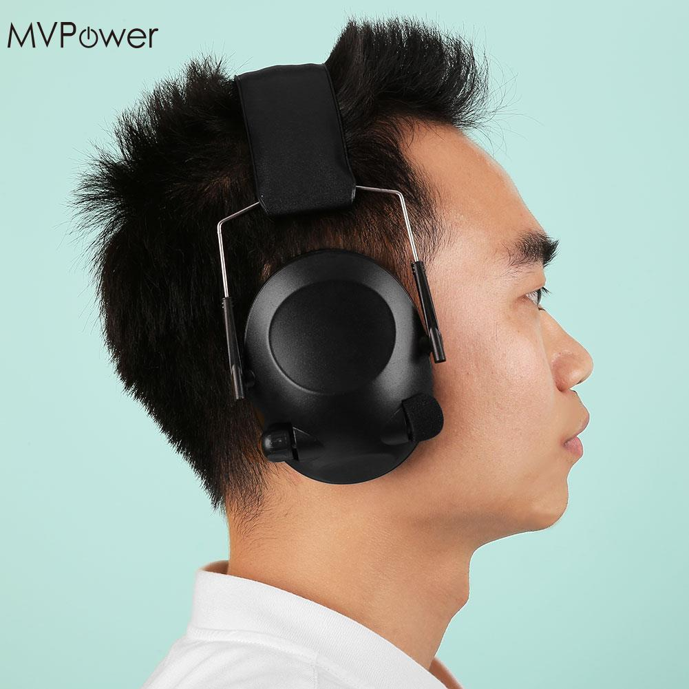 MVpower Tactical Anti-Noise Impact Electronic Earmuff Fold Ear Hearing Earmuffs 21SNR Earphone Headphone Headset купить