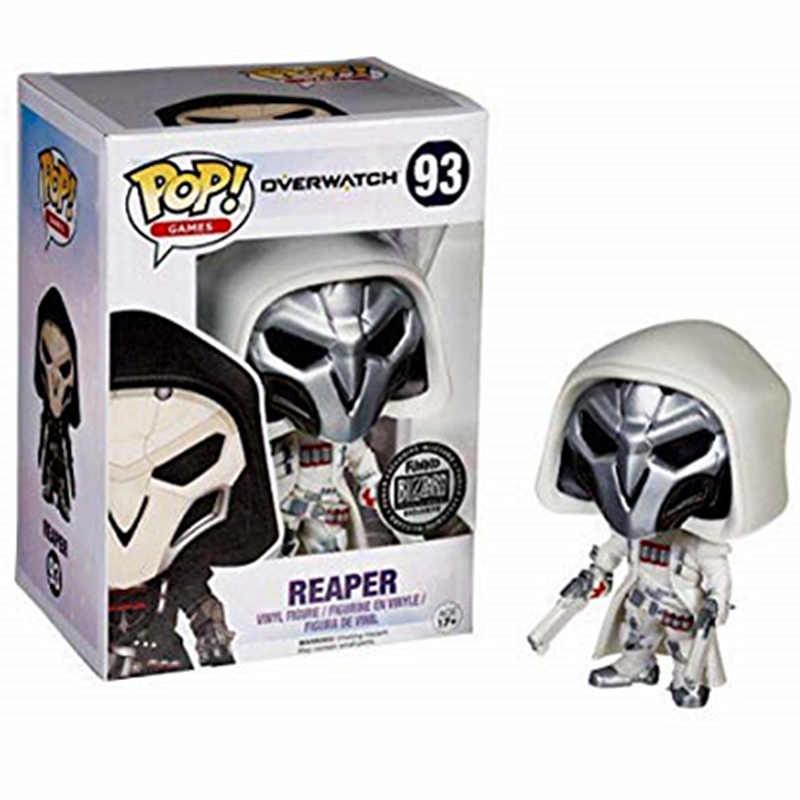 Funko pop novo oficial reaper branco exclusivo popular jogo vinil figuras de ação collectible modelo brinquedos para presentes festa aniversário