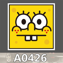 A0426 Anime Punk Cool Sticker for Car Laptop Luggage Fridge Skateboard Graffiti Notebook Scrapbook Bicycle Stickers Decal Toy