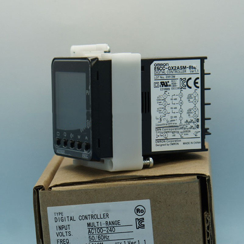 все цены на  New Original Digital 5ECC,E5CCQX2ASM801 Temperature Controller E5CC-QX2ASM-801 100-240VAC Temperature Relay  онлайн
