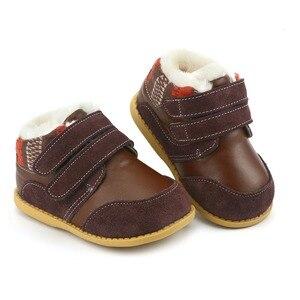 Image 2 - Tipsie palce dzieci buty dla chłopców jesienią i zimą 2018 koreański wersja Martin skórzane moda Snowankle