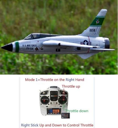 Новый самолет Freewing 64 мм, игрушечный самолет F105 Thunderchief rc EDF jet, игрушечный самолет, хобби
