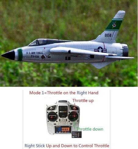 Freewing nieuwe vliegtuig 64mm F 105 Thunderchief rc EDF jet vliegtuigen speelgoed hobby-in RC Vliegtuigen van Speelgoed & Hobbies op  Groep 1