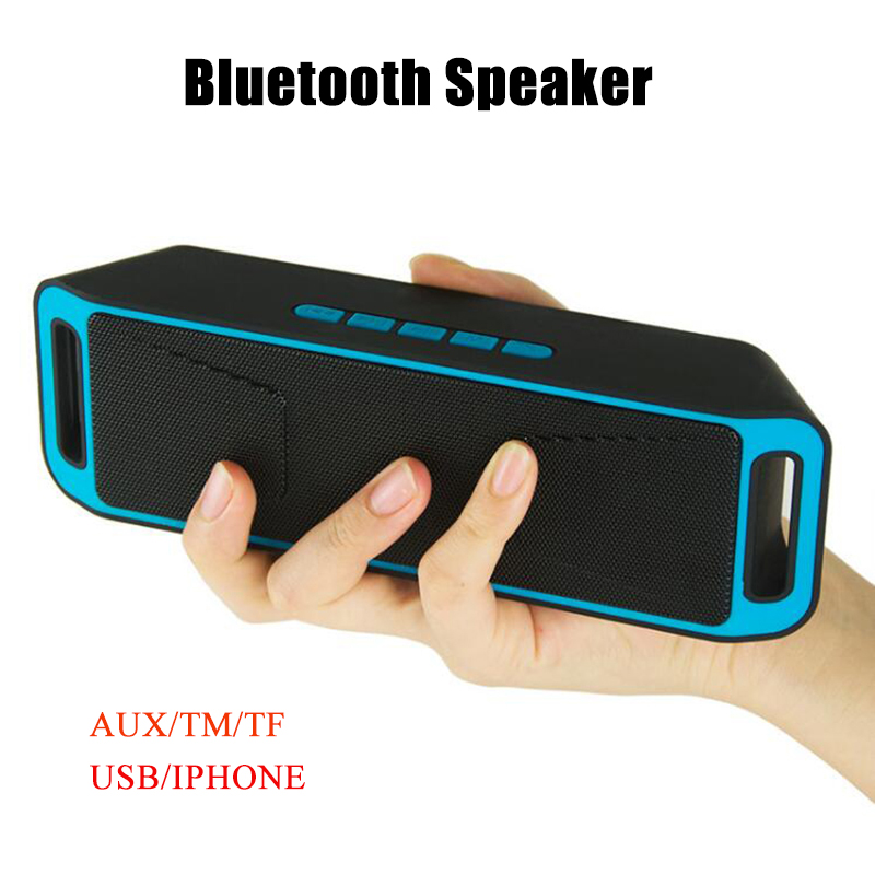 Wireless Bluetooth Speaker High-fidelity Bass Sound Stereo Subwoofer Dual Loudspeaker Mobile phone computer TF card Function