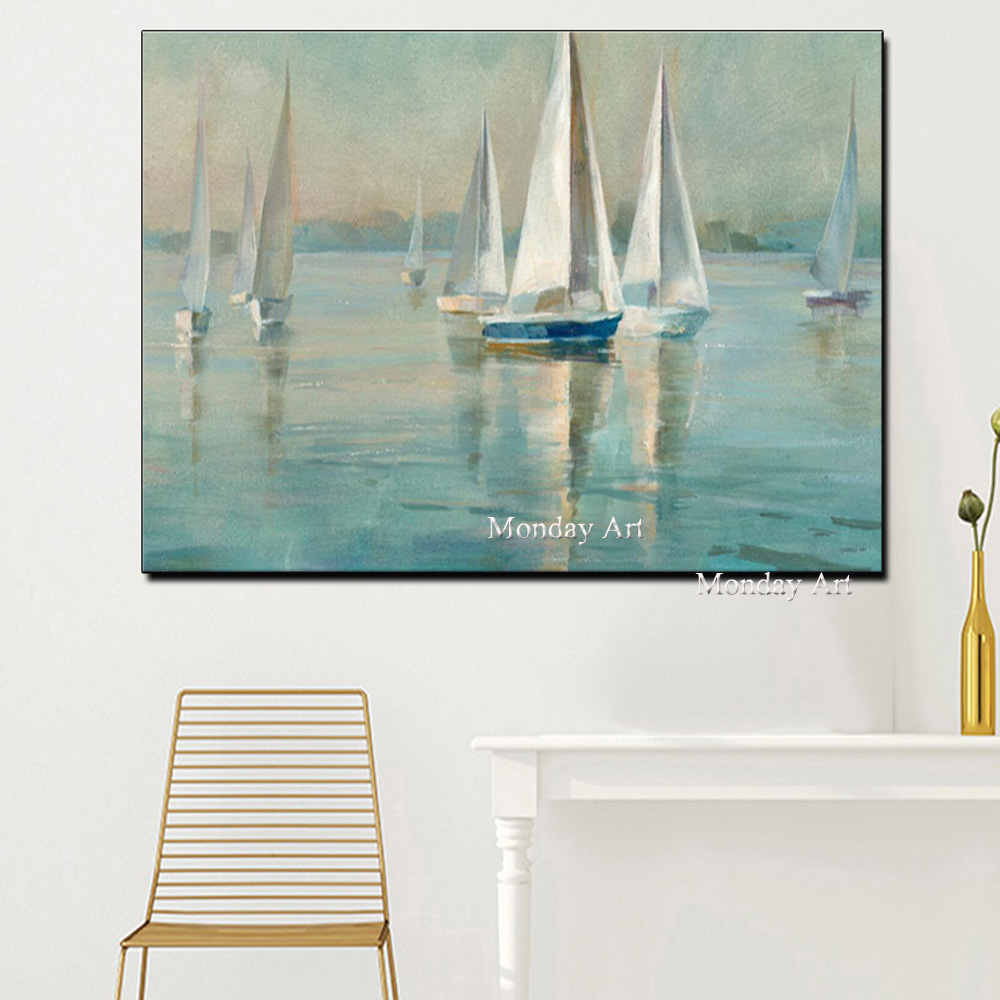 1vas-Seascape-Poster-Nordic-Wall-Picture-for-Living-Room-Boat-Sea (1)