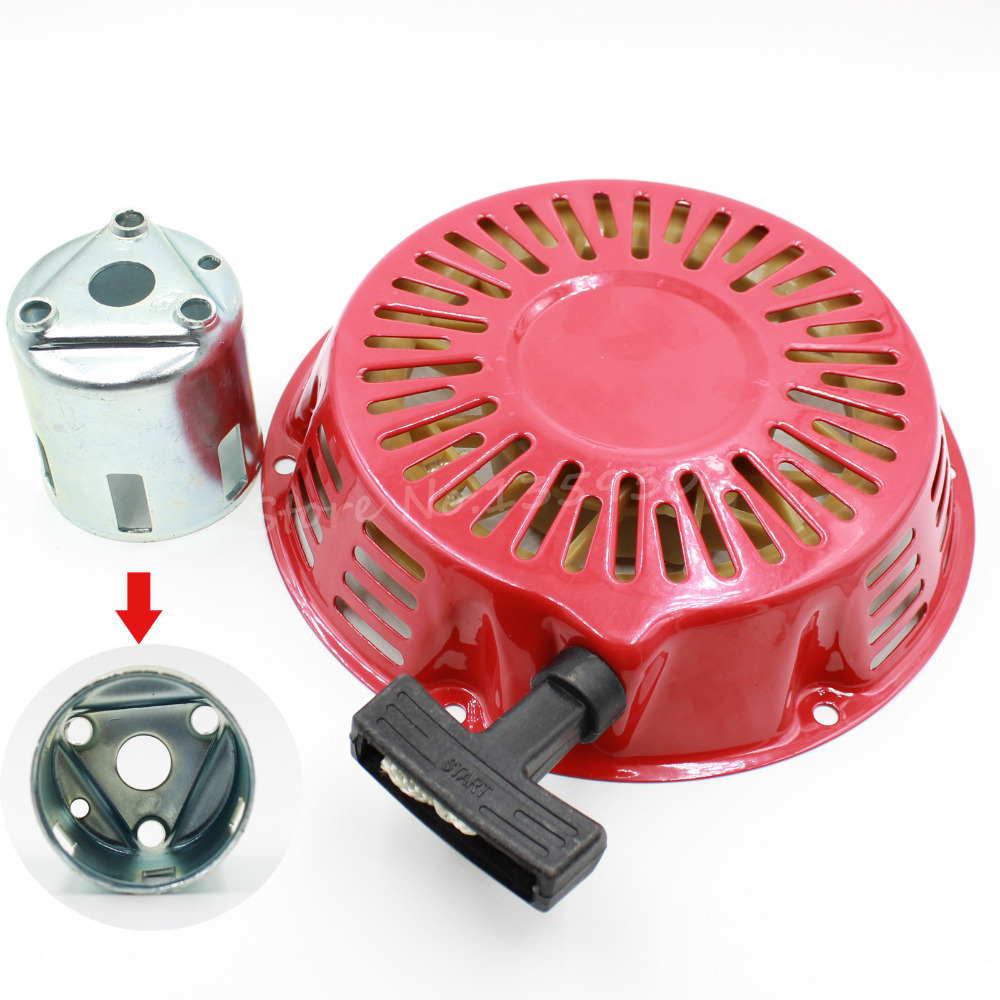 Metal Pull Starter Recoil Start Coverflange Cup For Honda Gx340