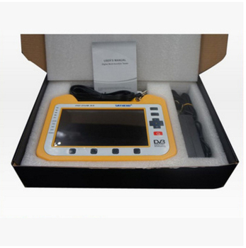 Sathero SH 910HD Digital Satellite Meter Satellite Finder DVB S2 7 Inch HD  LCD Screen