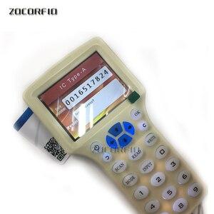 Image 5 - Englisch 10 frequenz RFID Kopierer ID IC Reader Schriftsteller kopie M1 13,56 MHZ verschlüsselt Duplizierer Programmierer USB ports