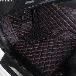 Auto Credere Auto piano auto tappetino Piede Per jeep grand cherokee 2014 compass commander 2018 renegade impermeabile accessori auto
