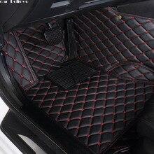 Dywanik podłogowy do samochodu jeep grand cherokee 2014 kompas 2018 dowódca renegade wodoodporne akcesoria samochodowe maty samochodowe