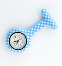 Dots Silicone Nurse Watch Calendar Fob pocket medical gift for nurse doctor hospital watches accept OEM service ALK VISON