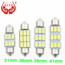 KEIN 36mm C5W C10W SV8.5 9 SMD 5630 LED CANBUS Error Free Car License Plate lights AUTO Reading Dome Festoon Lamp door light