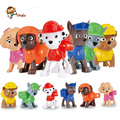 Canine Patrol Dog Toys Russian Anime Doll Action Figures Patrol Puppy Toy Patrulla Canina Juguetes Gift for Children 1PCS