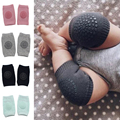 Baby Boys Girls Infant Born Toddler Kids Anti-slip Safety Crawling Elbow Cushion Knee Pad Soft Durable Kneepad Protector 1Pair