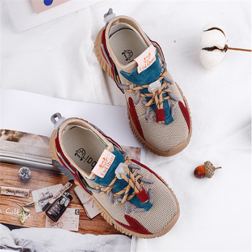Spring Autumn Kids Shoes Fashion Mesh Casual Children Sneakers For Boy Girl Toddler Baby Breathable Sport Shoe(China)
