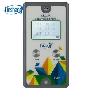 Image 2 - Linshang LS110A פיצול שידור מטר עם IR UV דחיית 550nm גלוי העברת אור עבור זכוכית סרט מול windshiled
