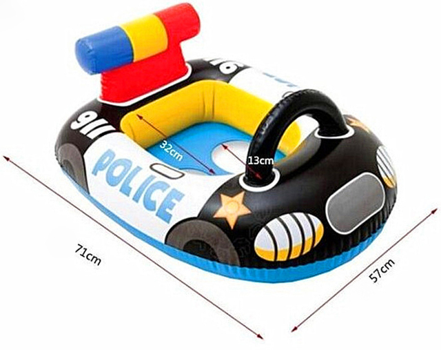 71X 57cm Police boat Baby toys for 1 year olds 5c64d0f10e0ed