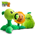 30Cm Plants Vs Zombies Plush Toys Doll Birthday Gift Children's Toys Christmas Boy