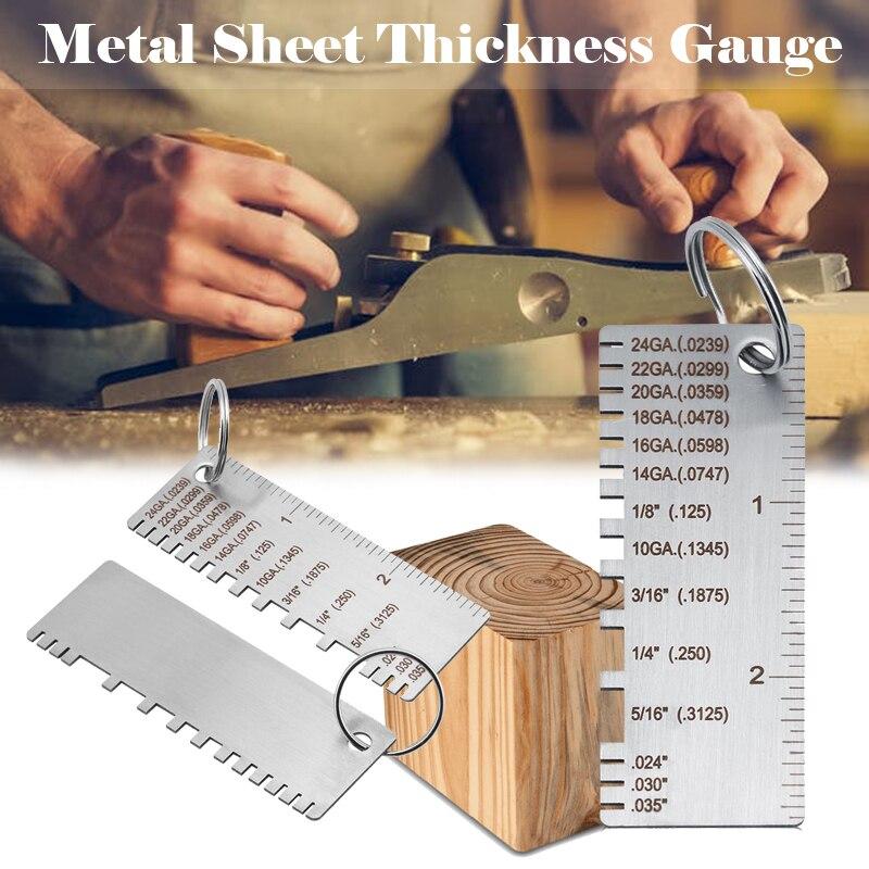 Fio de aço inoxidável metal shee espessura