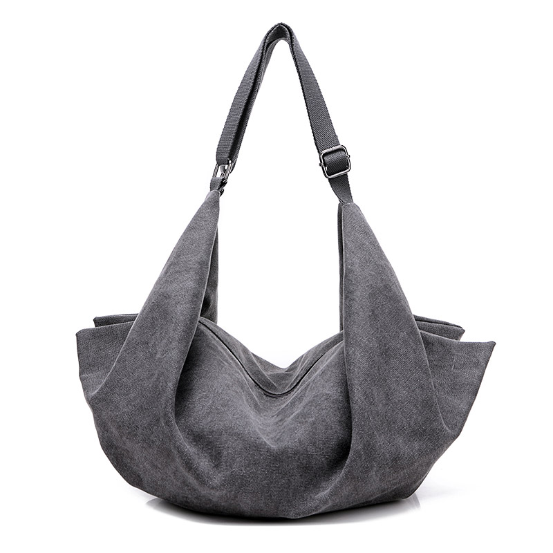 afb133aa493 Cheap Diseño de marca vintage mujeres de la lona del bolso ocasional de  gran capacidad Hobos