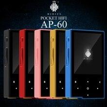 2016 Orignal Hidizs AP60 DSD HiFi Lossless Bluetooth Bolsillo 4.0 Apt-x Reproductor de Música Mini Reproductor de MP3 Portable Del Deporte AK4452VN D/A