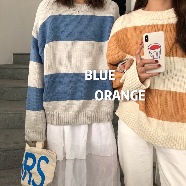 Color Knitted Sweater Female  2018 Winter Long Sleeve O Neck Casual Loose Tops Jumper Women Sweaters And Pullovers Pull Femme by Spenic Tensic