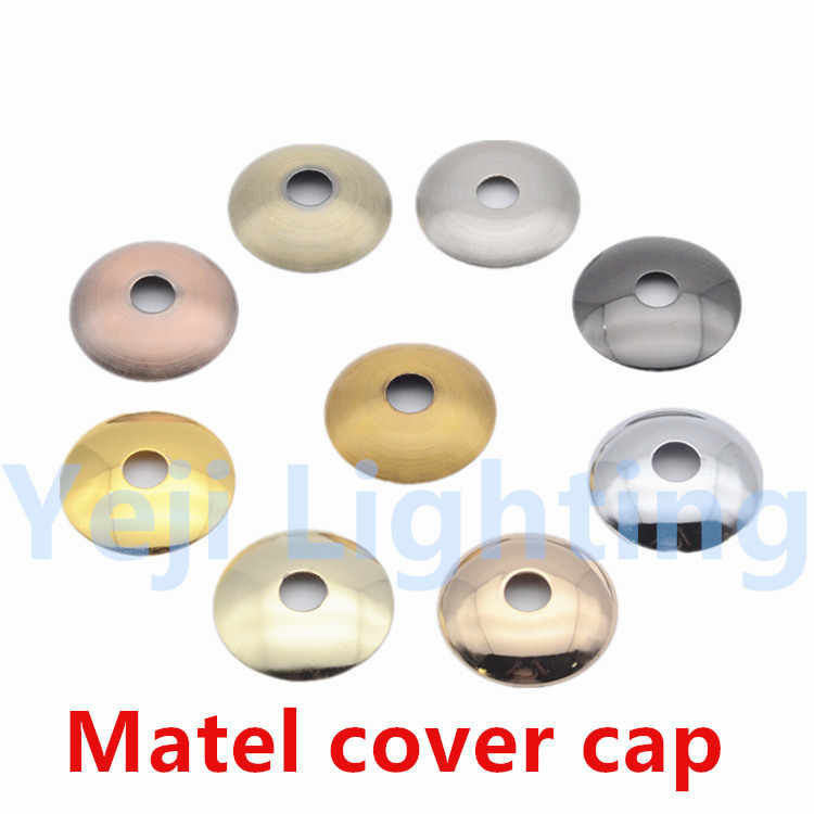 Tafellamp wandlamp Metalen cap cover cap iron Plating fittings led Hanglamp base plafond rose luifel verlichting accessoires