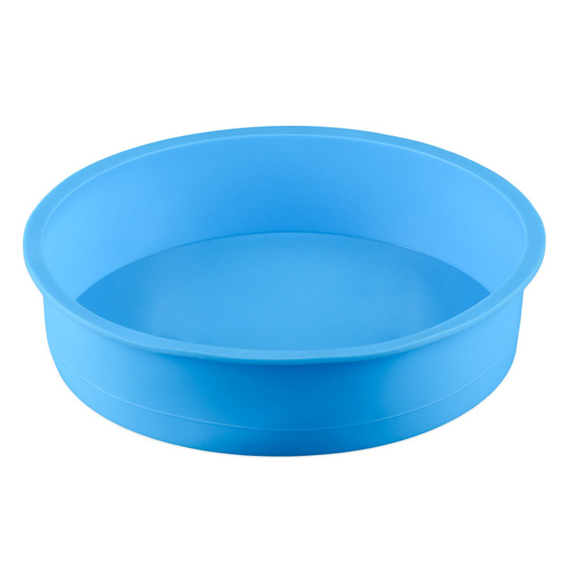 2018 Newest Round Shape Silicone Bread Mold Cake Pan Muffin Non Stick Bakeware Mould Baking Liner Tray