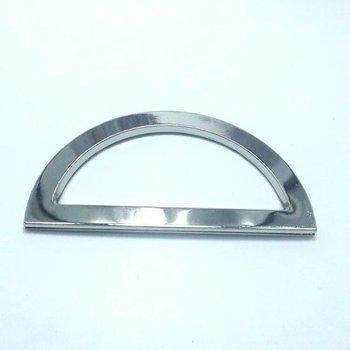 30 Piece 130 x 55 mm NICKEL  Metal Purse Eyelets