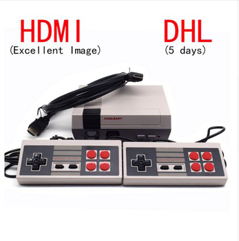 New Mini Game Console Retro Mini TV Handheld Game Console For Nes Games Built-in 600 Different Games With HDMI Output PAL&NTSC