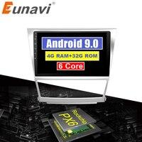 Eunavi 4G+32G Octa 8 core android 9.0 car dvd for Toyota camry 2007 2008 2009 2010 2011 multimedia car radio gps navi PX6