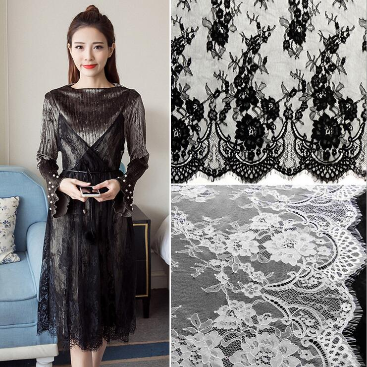 Hot Selling Eyelash Chantilly Lace The Most High End
