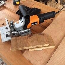 760 Вт деревянная открывающаяся машина многофункциональный деревянный слот машина Электрический инструмент деревообрабатывающий шиповочный станок MIK-ZK5-100
