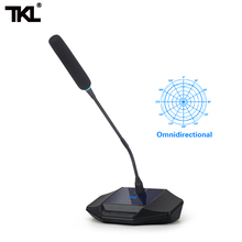 TKL T1 Gooseneck Conference Wire Microphone Omnidirectional Meeting Systme Condenser Use For Speech Recording
