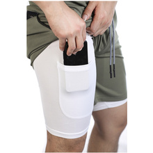New Double Layer Shorts Men Summer Quick-drying Breathable R