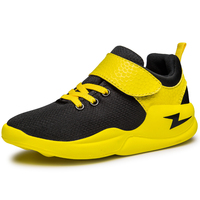 Youth Children Sport Sneakers Best Mesh Breathable Boy Basketball Shoes Red Blue Kids Brand Shoes Lightweight