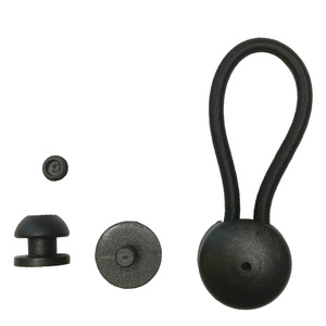 Image 2 - 10PC Bungee Shock Cord Clip  with Knobs Pull Tie Down Tarp Canvas Knobs for Marine Boat Truck Car Covers