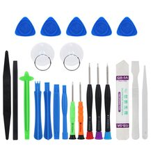 22 in 1 Mobile Phone Repair Tool Kit Pry Opening Hand Tools Screwdriver Set for iPhone 7 7 Plus 8 X iPad Samsung Phone Tablet PC(China)