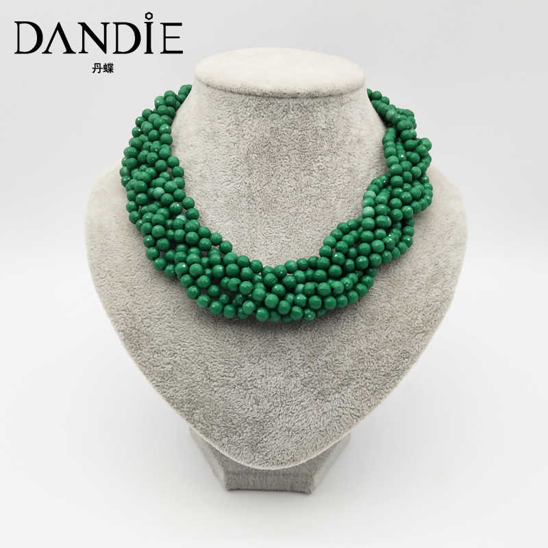 Dandie Acrylic multi-layer woven necklace, fashion, simple, sweet female accessories