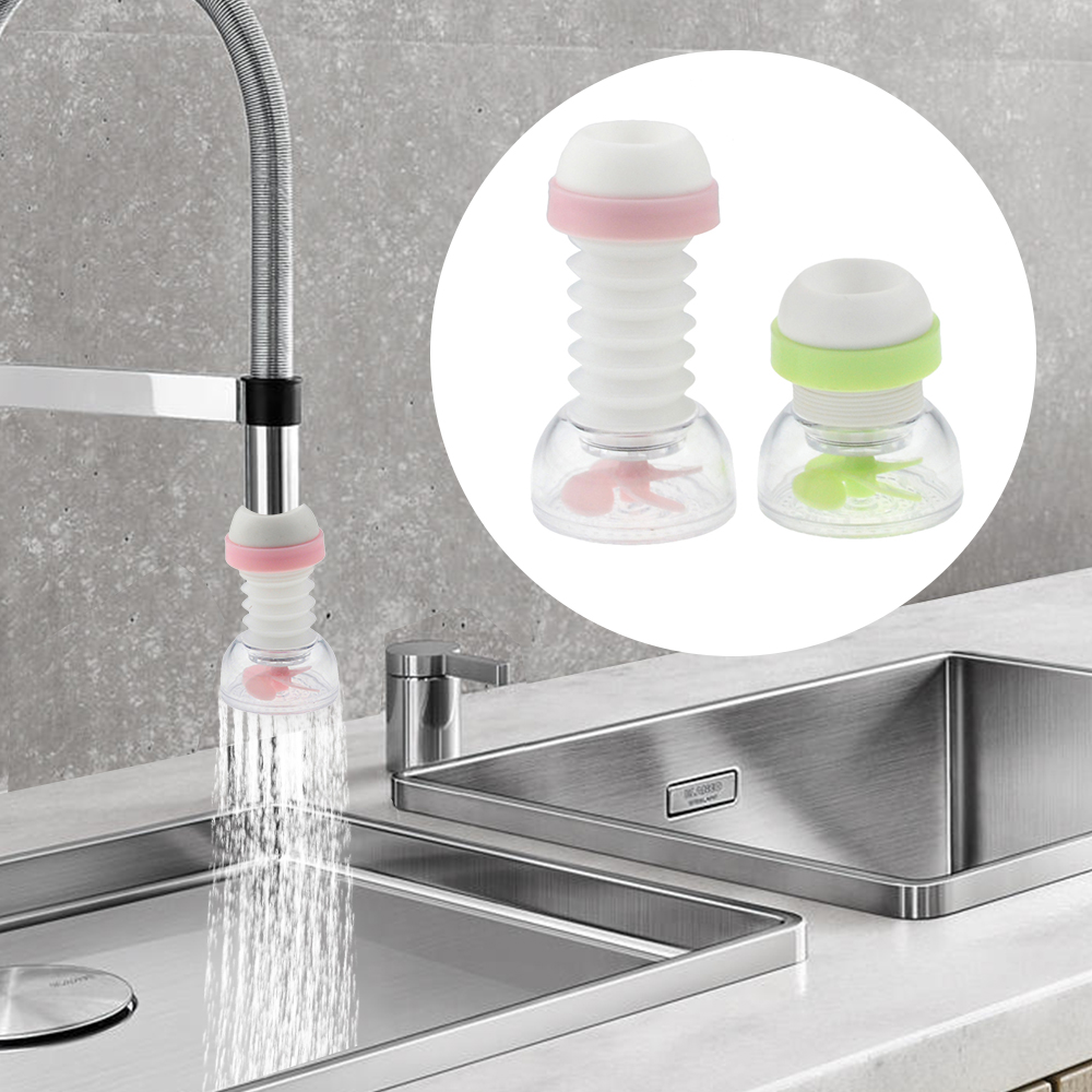 360 Degree Rotatable Splash-Proof Tap Sprinkler Tap Water Filter Kitchen Sprinkler Filter Nozzle Tap Adapter Device