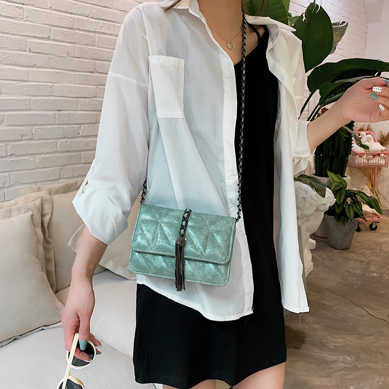 Female Crossbody Bags For Women 2019 Quality PU Leather Luxury Handbags Designer Sac A Main Ladies Tassel Shoulder Messenger Bag in Top Handle Bags from Luggage Bags