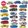 Siku diecast metal cars toys, Modelos de aleación de Coche de Juguete, collectible cars piel tren helicóptero modelo de tractor truck toys para niños