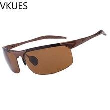 VKUES Mens Sunglasses Tough Lens Soft Nose-pads Multicolored Sports UV400 Outdoor Goggles Anti-glare Driver Mirror