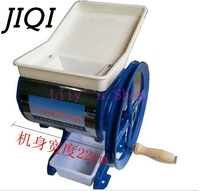 JIQI Household commercial manual pig meat slicer Grinder Cutter hand cranked beef lamp grinding Chopper machine meatloaf mincer