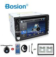 Автомобильный Электронный Авто 2din dvd плеер gps радио тюнер ПК видео мониторы для Универсальный RDS цифровое телевидение Bluetooth (опция) cam