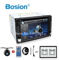 Car Electronic auto 2din car dvd player GPS Radio Tuner PC Video Monitors for universal RDS Bluetooth digital tv (option) cam