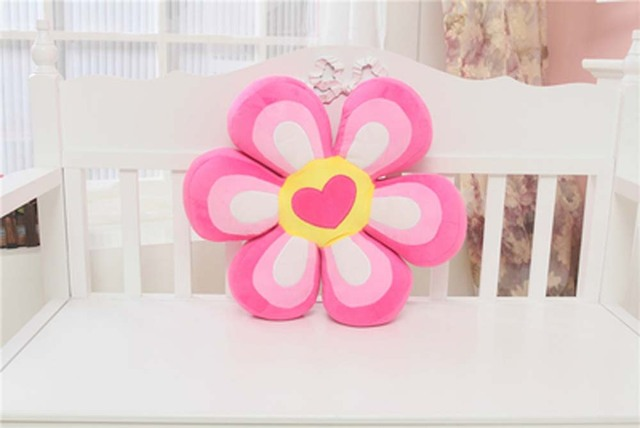 Throw pillows cushions home decor colourful sun flower shape kawaii throw pillows cushions home decor colourful sun flower shape kawaii pillow emojidecorative pillows for mightylinksfo Images
